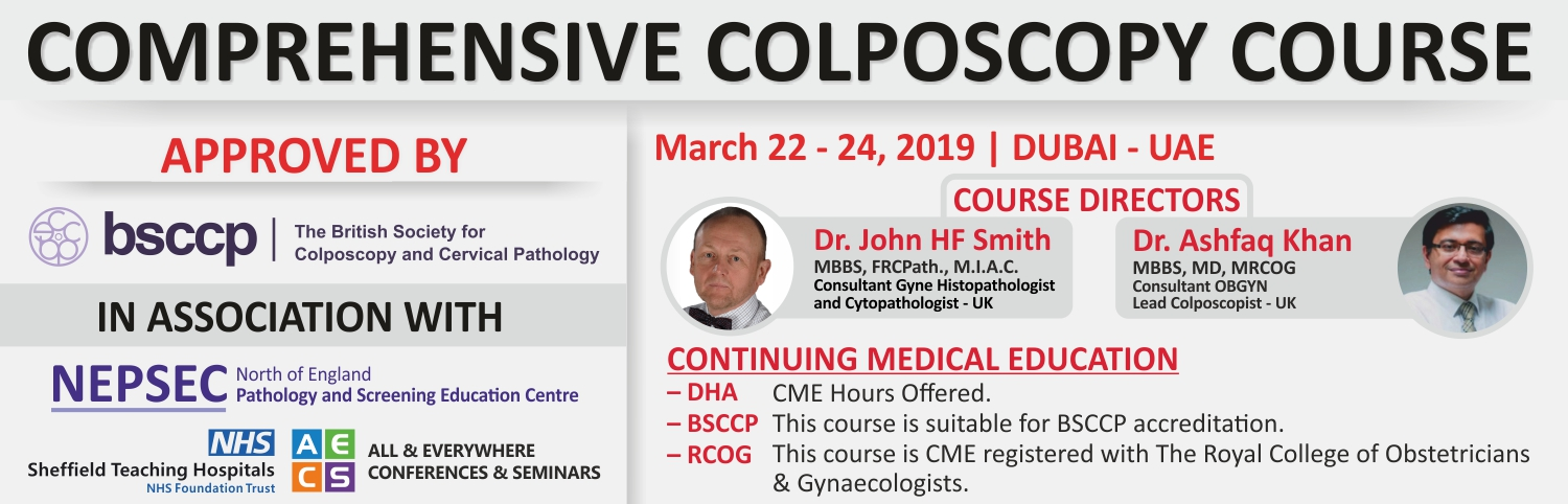 AECS - Comprehensive Colposcopy Course by BSCCP UK