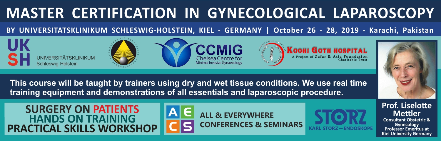 Master Certification in Gynecological Laparoscopy - Pakistan