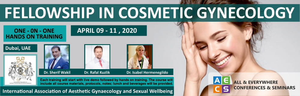 Fellowship in Cosmetic Gynecology - April