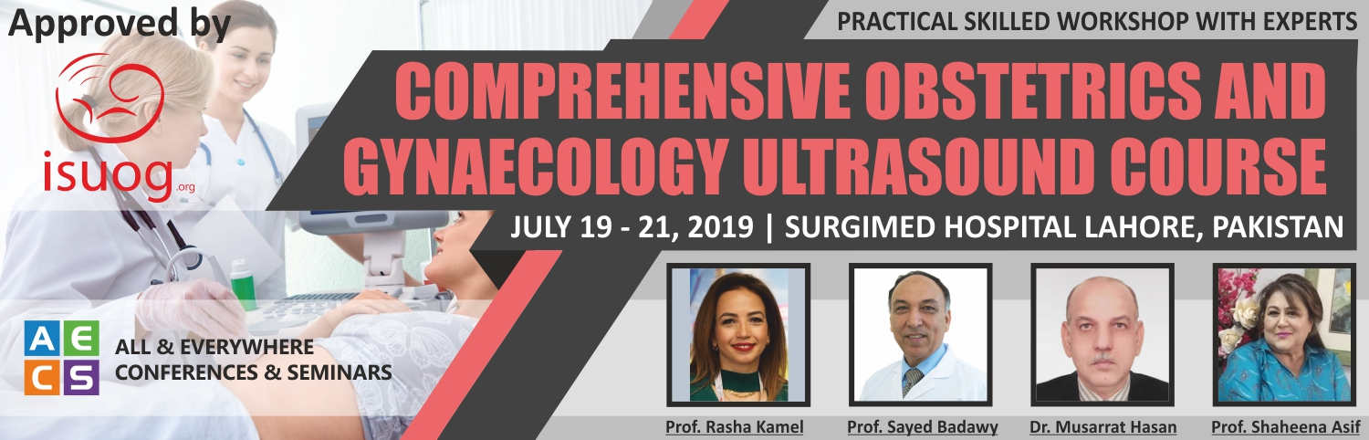 Banner: Comprehensive Obstetrics and Gynecology Ultrasound Course in Pakistan