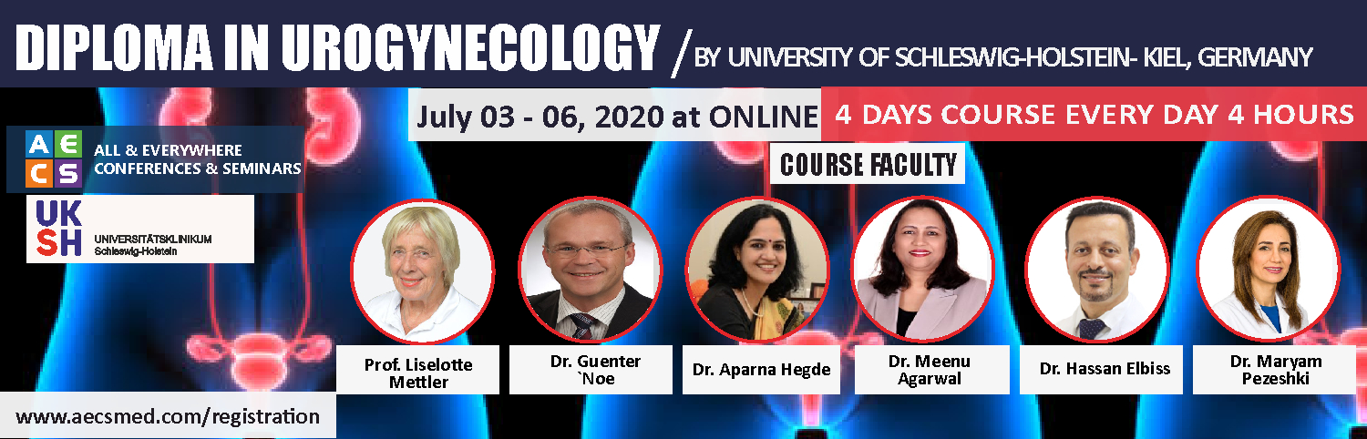 Web - diploma in urogynaecology july 3 to 6, 2020