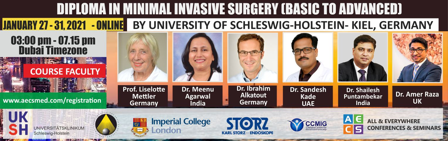 Web - Diploma in Minimal Invasive Surgery (Basic to Advanced)