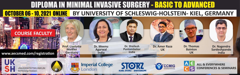 Web - Diploma in Minimal Invasive Surgery (Basic to Advanced) - October 06 - 10, 2021