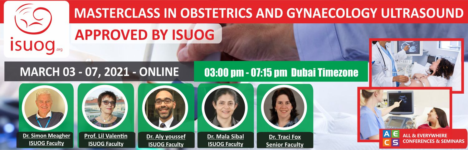 Web - Master certificate in Obstetrics and Gynaecology Ultrasonography - March 03 - 07, 2021