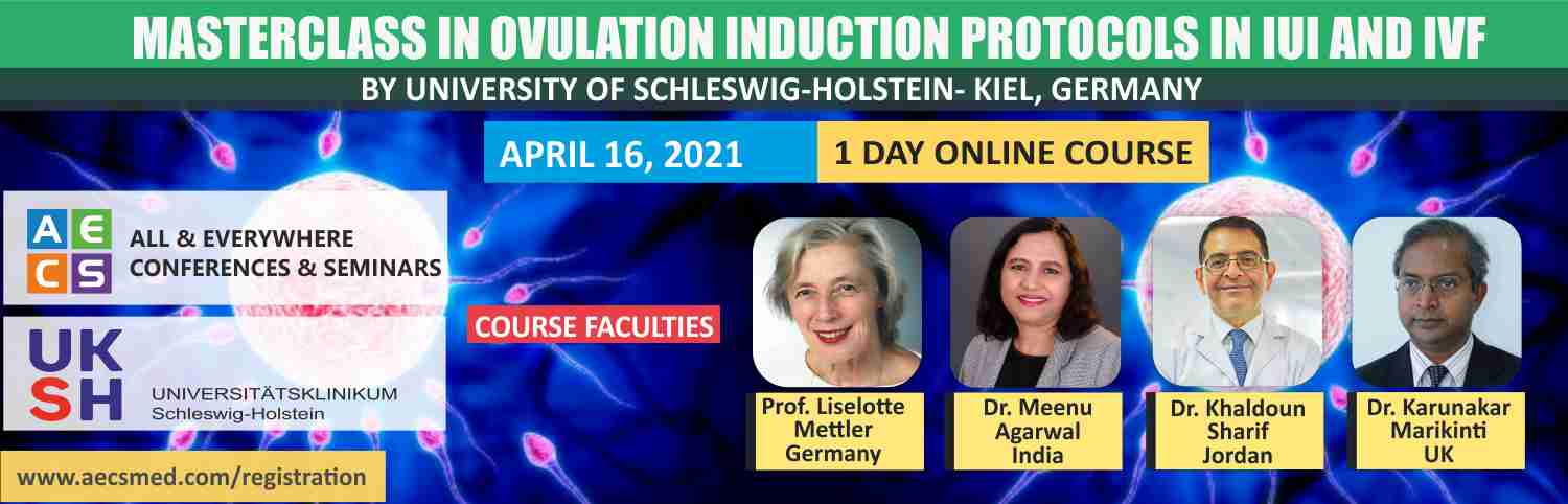 Web - Masterclass in Ovulation induction protocols in IUI and IVF - April 16, 2021