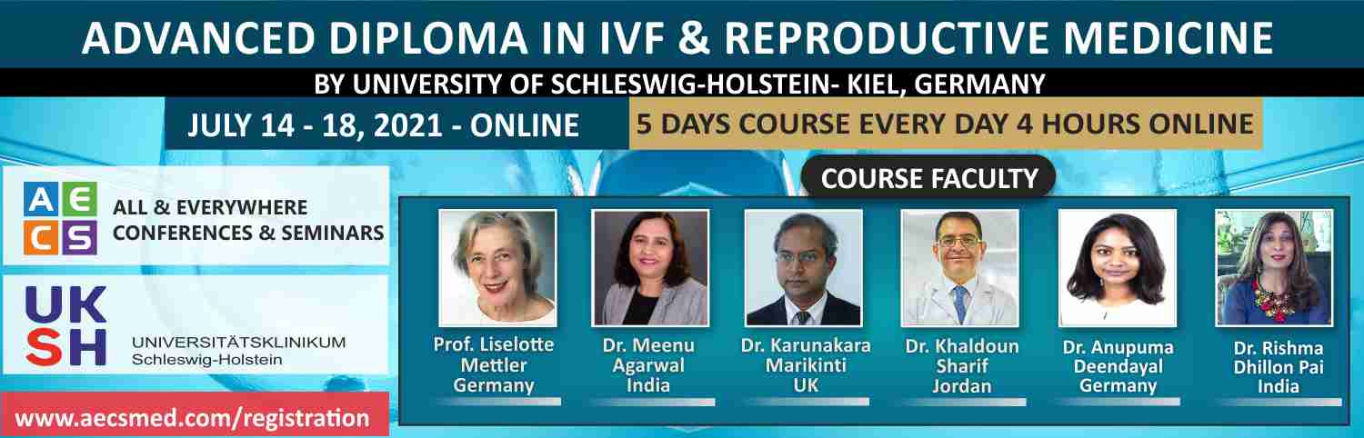 Web - Advanced Diploma in ART and Reproductive Medicine - July 14 - 18, 2021