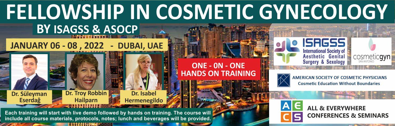 Web - Fellowship in Cosmetic Gynecology - January 06 - 08, 2022